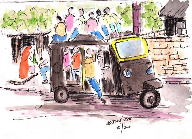 Vignettes of India's Transport Scene