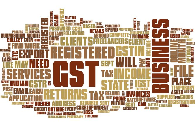 GST for the Freelancers in India